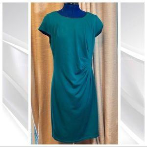 Spense   Green Sheath Nidi Dress